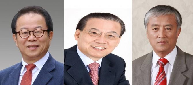 오준호 KAIST 교수(왼쪽부터), 이희국 LG 상근고문, 정연호 한국원자력연구원 정책연구원 - (주)동아사이언스 제공